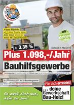Plakat Baunebengewerbe